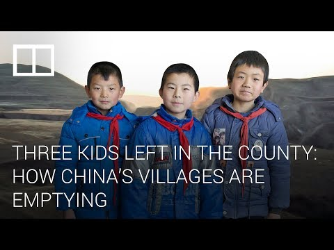 Three Kids Left In The County: How China's Villages Are Emptying