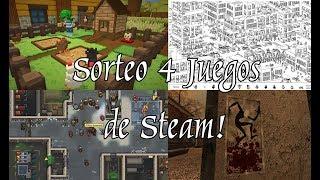 28º Sorteo! 4 Juegos para Steam!