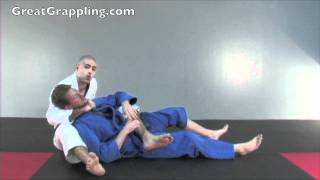 Back Control Submission Bow and Arrow Choke