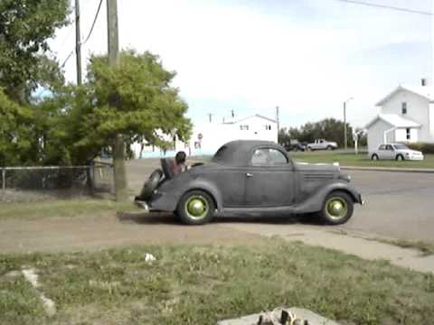 1935 ford deluxe 3 window coupe original unrestored for 1935 ford 3 window