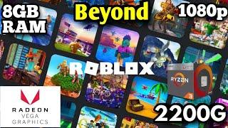 Roblox: Ryzen3 2200g Vega 8: Low Pc Gaming