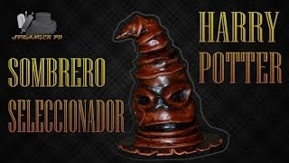 Tarta de Harry Potter: The Sorting Hat/El Sombrero Seleccionador