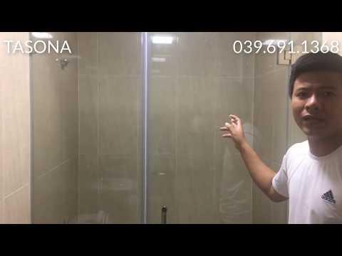 Phòng tắm kính - 2 MẪU CABIN PHÒNG TẮM ĐẸP TÒA GREEN STAR PHẠM VĂN ĐỒNG