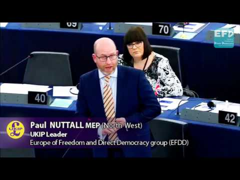 Britain will not be bullied - UKIP Leader Paul Nuttall