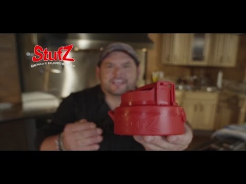StufZ Commercial StufZ As Seen On TV Stuffed Burger Press Featuring Celebrity Chef Brian Duffy
