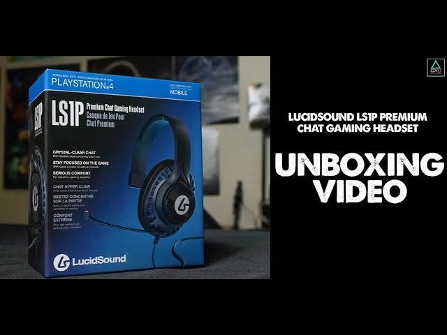 LucidSound LS1P Chat Headset Unboxing Video