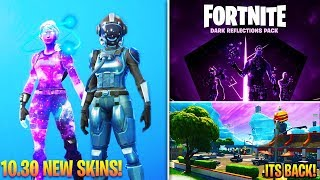 *NEW* Fortnite 10.30 Update, New Skins & Cosmetics, Map Changes, Dark Reflections Pack, & MORE!