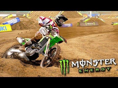 MINHA NOVA MOTO de MOTOCROSS!!! - Monster Energy SuperCross