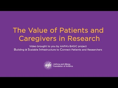 The Value of Patients and Caregivers in Research