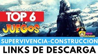 TOP 6 JUEGOS DE SUPERVIVENCIA - CONSTRUCCIÓN Y GESTIÓN DE COLONIAS #2
