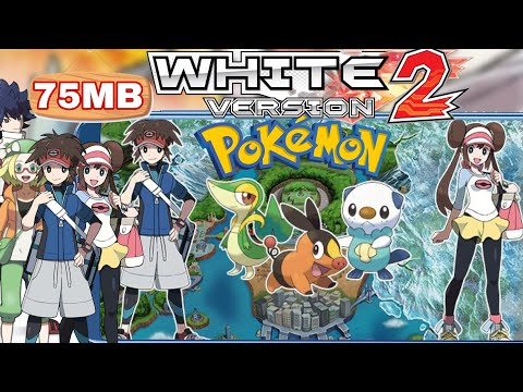 How To Download || Pokemon White 2 And | Pokemon Black 2 On Android For 75MB 100%Work