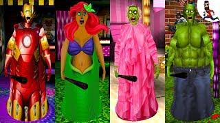 Granny Princess, Rapunzel Granny, MODS GRANNY, EVOLUTION GRANNY, 10...