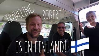"Meeting YouTuber ""Traveling Robert"""