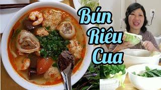 Nấu bún riêu cua đơn giản tại nhà (Người Việt ở Mỹ)