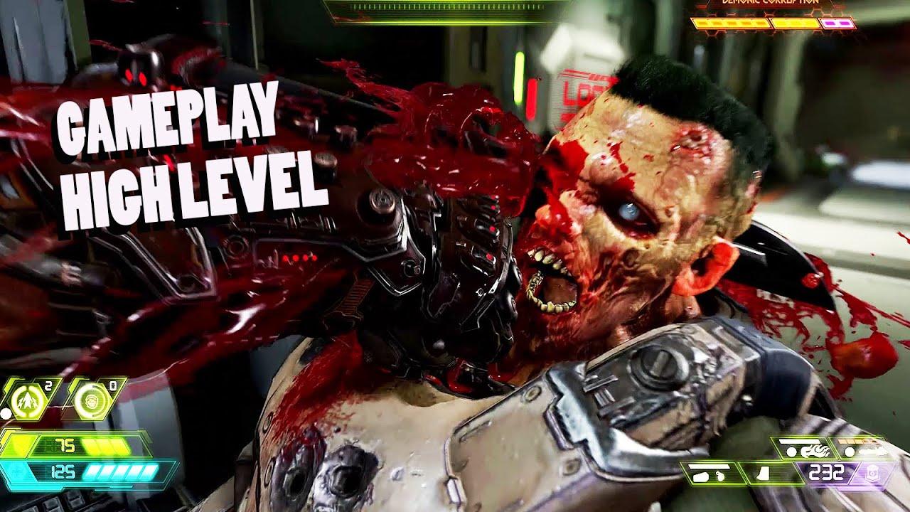 DOOM ETERNAL : 14 min gameplay High Level (1080p 60fps) thumbnail