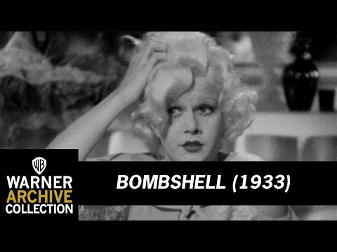 Bombshell (1933) – Your Day Off Is Sure Hard On Your Lingerie!