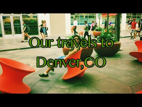 Mini vacation in Denver, CO