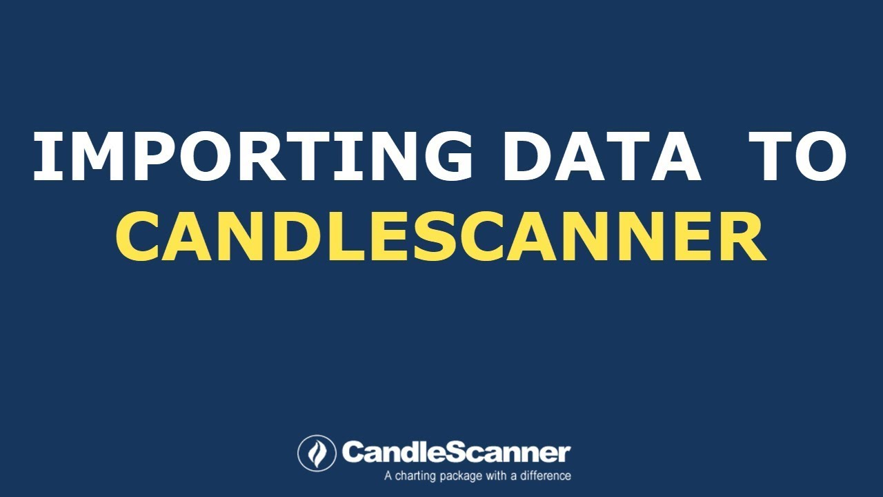 Data Providers | CandleScanner – technical analysis software