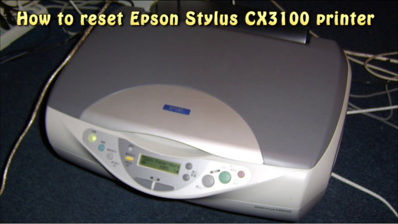 DOWNLOAD DRIVER: EPSON STYLUS CX3100 PRINTER