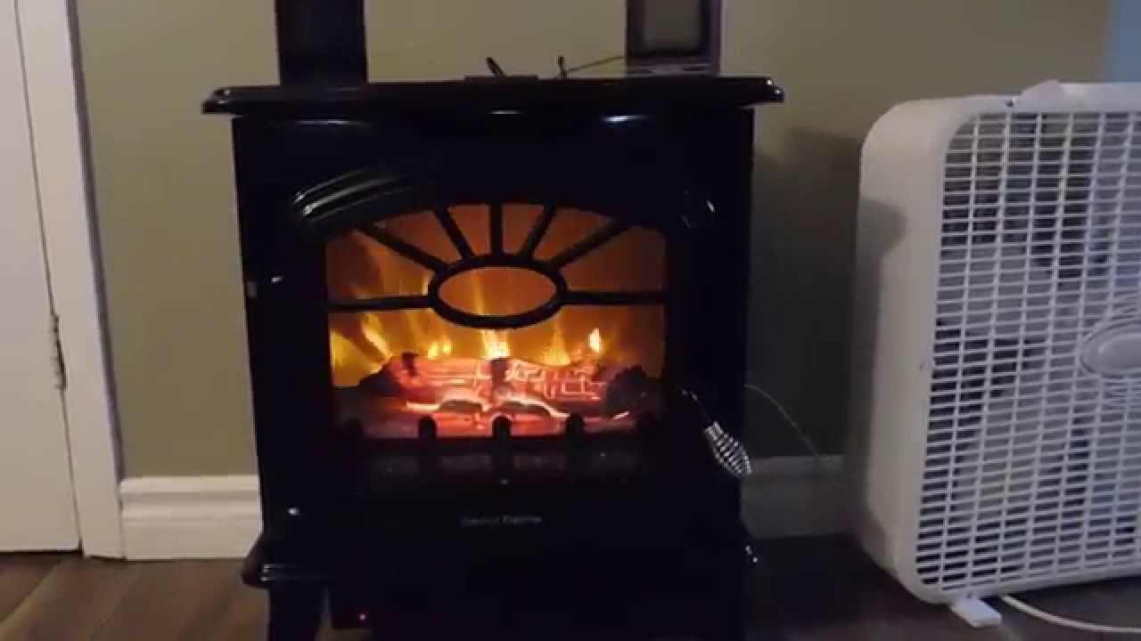 decorflame electric stove heater model qc212 gbkp youtube