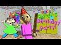 CELEBRATE BALDI'S BIRTHDAY WITH A PARTY!!   Baldi's Basics MOD: Baldi's Birthday