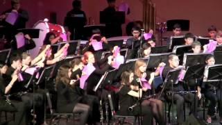 Symphonic Band plays Paper Cut