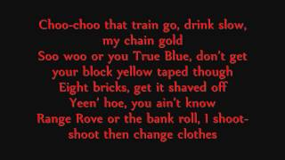 Fat Joe - Yellow Tape ft. Lil Wayne, ASAP Rocky, & French Montana Lyrics On Screen (1080p)
