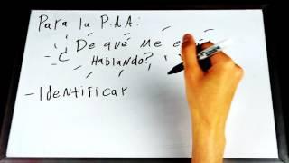 Examen de Admisión UCR-UNA- Lección 1 español