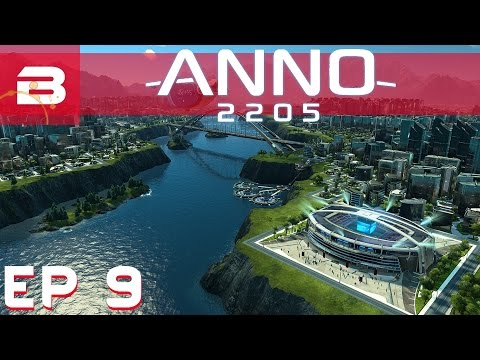 Anno 2205 - Easy Max Credit - Ep 9 (Let's Play Gameplay 1080p)