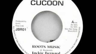 "JACKIE  BERNARD - Roots music  (Cocoon ) 7"""