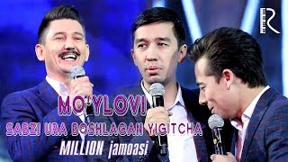 Million jamoasi - Mo'ylovi sabzi ura boshlagan yigitcha