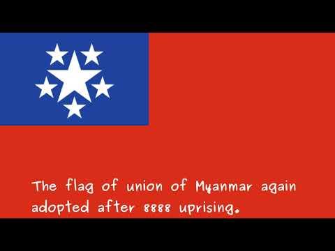 Myanmarlogy (Myanmar Flag Timeline)