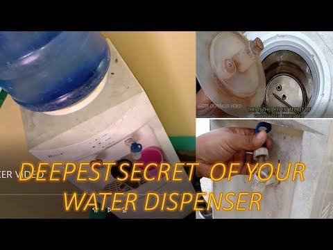 HOW TO CLEAN YOUR WATER DISPENSER, DIY TUTORIAL