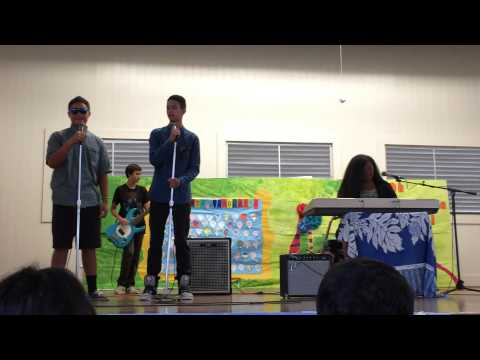 Hilo Intermediate School Talent Show 2014 - Say Something
