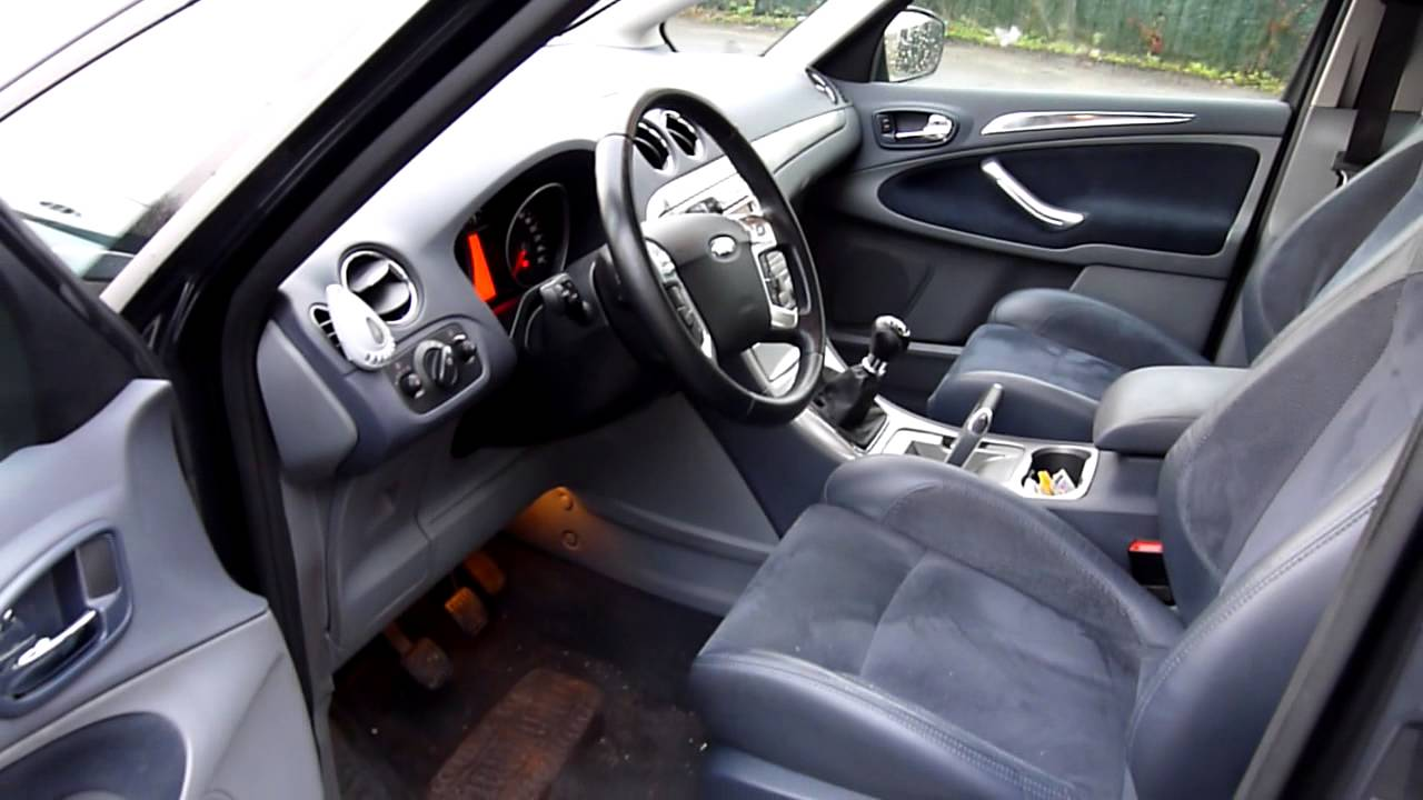 ford s max 2 0 l tcdi 2007 km youtube. Black Bedroom Furniture Sets. Home Design Ideas