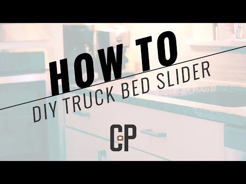 DIY truck bed slider Carlson Projects INC, Lincoln NE