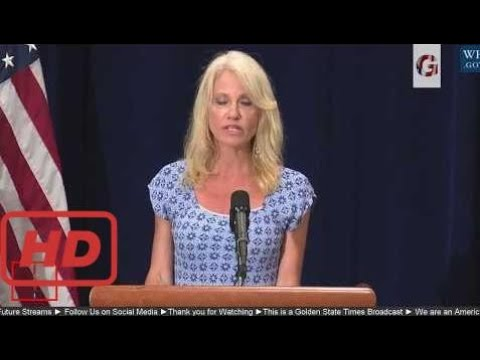 News News WATCH:Trump Administration Press Briefing with Sec Tom Price & kellyanne conway on Opioid