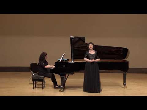 船從遠方來     女高音-朱芸宜老師  鋼琴-楊美娜老師