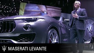 Maserati Levante Global Premiere. Geneva International Motor Show 2016