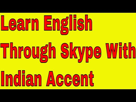 Learn English Through Skype With Indian Accent -Live Class Recording!