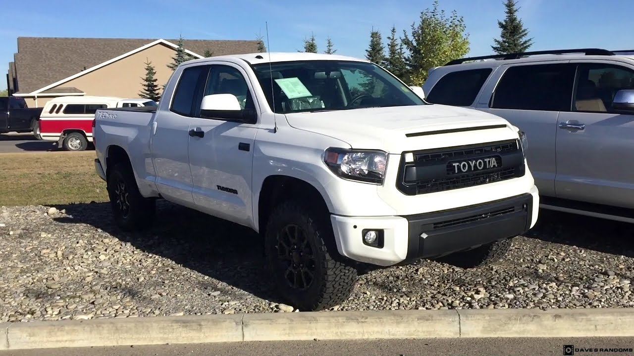 2017 Toyota Tundra Trd Pro Double Cab In White