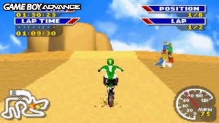 MX 2002 Featuring Ricky Carmichael (Gameboy Advance Gameplay)