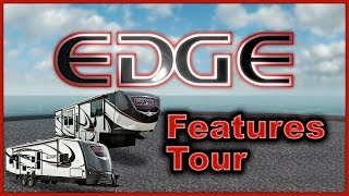 Heartland Edge RV 2016 5th Wheel and Travel Trailer Toy Hauler Features Tour Video