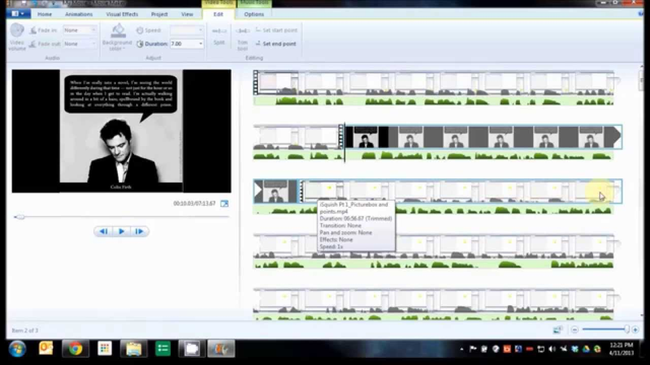 MovieMaker: Add a picture to your presentation and keep your ...