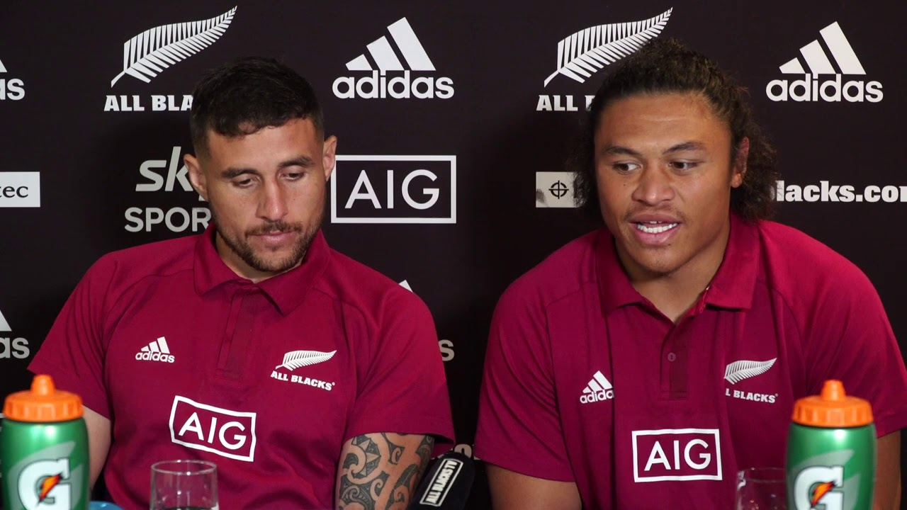 TJ Perenara & Caleb Clarke Press Conference