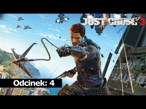Just Cause 3 #4 Na ratunek 720p 60 FPS Gameplay PC