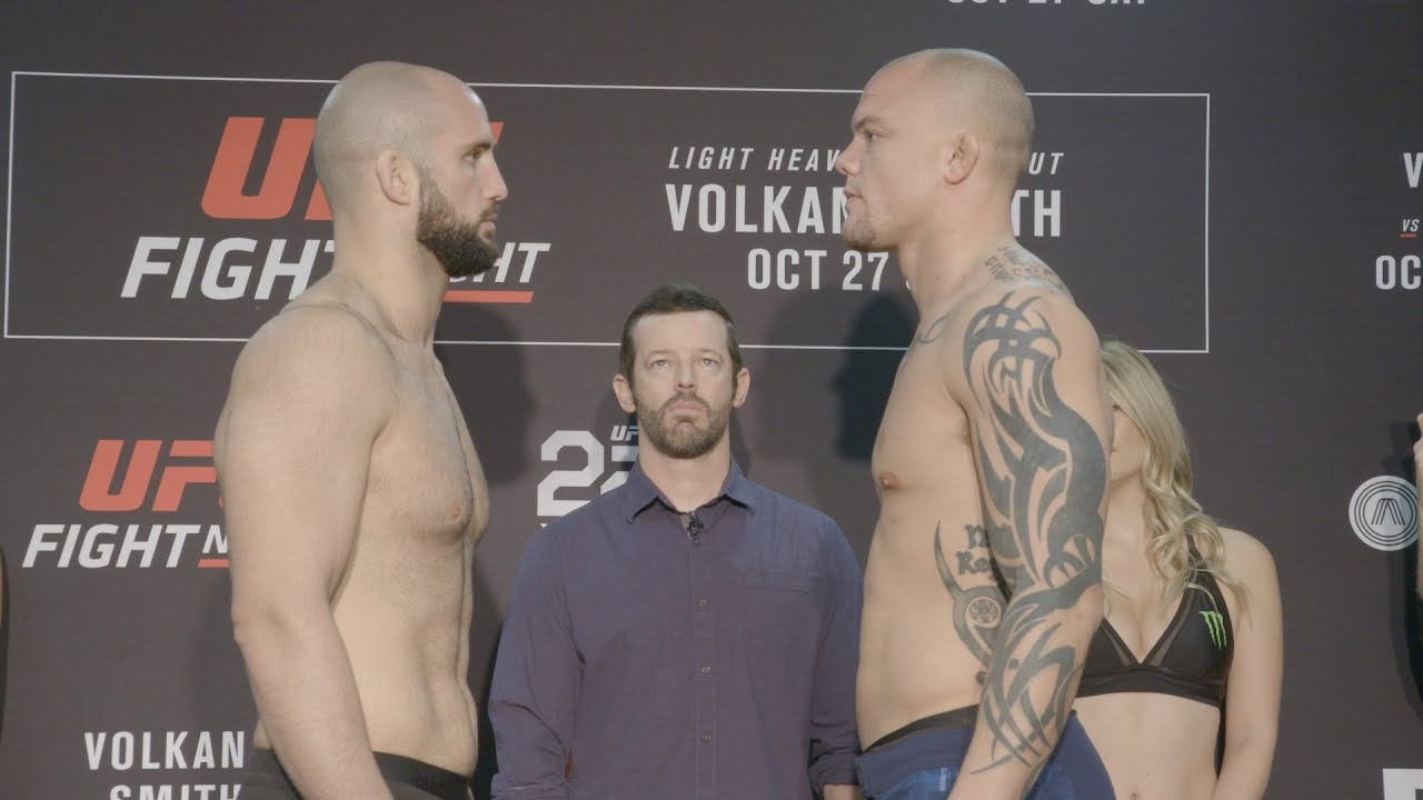 Fight Night Moncton: Weigh-in Faceoffs