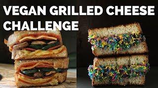 Vegan Grilled Cheese Challenge | Two Market Girls