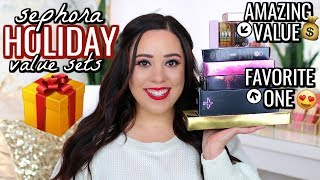 TOP 10 BEST SEPHORA HOLIDAY GIFT SETS 2019!