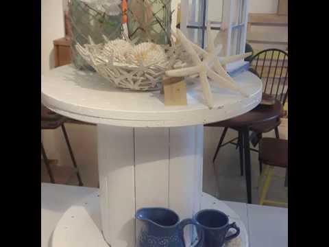 Diy Round Table Bricolage Mesa Con Carrete Redondo Apocalipsisrd